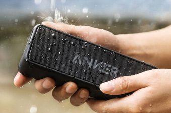 تا ۲۸ درصد تخفیف اسپیکرهای پرتابل Anker با گارانتی آواژنگ