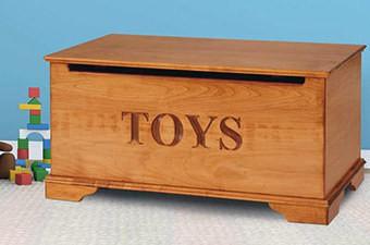 اتاقی زیبا و مرتب با جدیدترین جعبه ها و کمدهای اسباب بازی